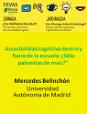 Accesibilidad cognitiva dentro y fuera de la escuela.                                                                     Mercedes Belinchón  (2018)