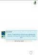 """Resumen Informe """"El sobreesfuerzo económico que la discapacidad intelectual o del desarrollo ocasiona en la familia"""".  (2014)"""